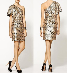 Trina-Turk-Cut-A-Rug-pixel-sequin-dress